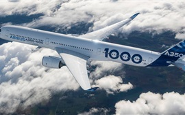 Preview wallpaper Airbus A350 aircraft