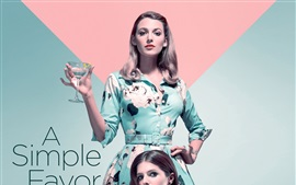Preview wallpaper Anna Kendrick, Blake Lively, A Simple Favor