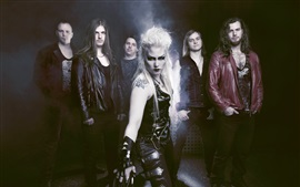 Preview wallpaper Battle Beast, Finland Heavy metal band
