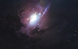 Preview wallpaper Beautiful nebula, cosmos, stars, space