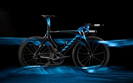 Preview wallpaper Bike, blue