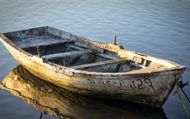 Boat, dust, river