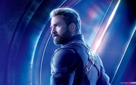 Preview wallpaper Captain America, Avengers: Infinity War