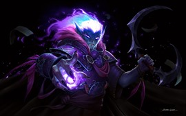 Preview wallpaper Dark elf, World of Warcraft, WOW, art picture