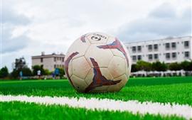 Futebol, prado, escola