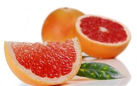Fruit slice, grapefruit