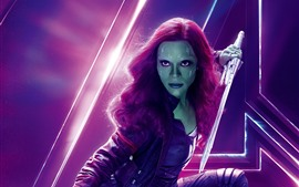 Preview wallpaper Gamora, Avengers: Infinity War
