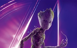 Preview wallpaper Groot, Avengers: Infinity War