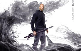 Preview wallpaper Jason Statham, The Meg