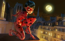 Preview wallpaper Lady Bug, 2017 cartoon movie
