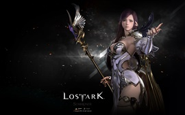 Lost Ark, elf girl