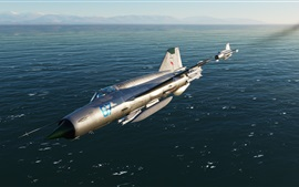 Preview wallpaper MiG-21bis frontline fighter