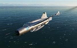 Aperçu fond d'écran Combattant de première ligne MiG-21bis