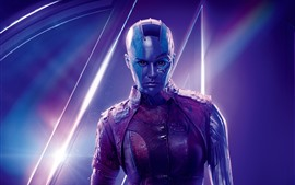 Preview wallpaper Nebula, Avengers: Infinity War