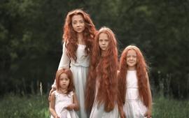 Chicas pelirrojas, hermanas