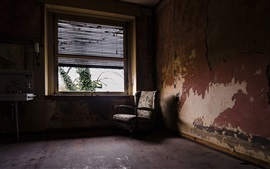 Preview wallpaper Room, chair, window, dust