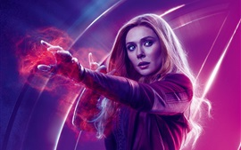Preview wallpaper Scarlet Witch, Avengers: Infinity War