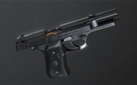 Pistola autoportante, arma
