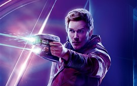 Preview wallpaper Star-Lord, Avengers: Infinity War