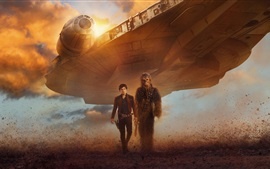Preview wallpaper Star Wars, spaceship, man, warrior