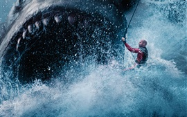 Preview wallpaper The Meg 2018