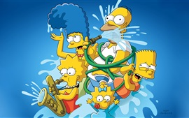 The Simpsons, cartoon, anime