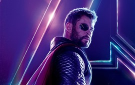 Preview wallpaper Thor, Avengers: Infinity War