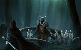 Preview wallpaper Undead, demons, art picture