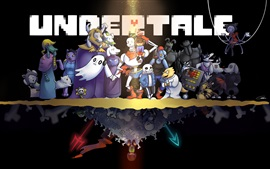 Preview wallpaper Undertale, RPG game