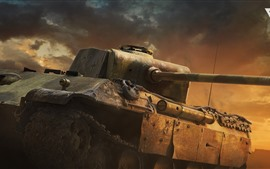 War Thunder, Cinematic, tanque