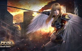 Preview wallpaper Angel Yan, The Black Troop