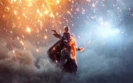 Preview wallpaper Battlefield 1, EA game, sparks