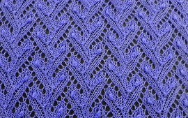Blue wool yarn texture background