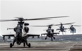 Preview wallpaper China Air Force, attack helicopter