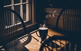 Copa, vapor, janela