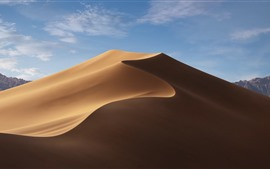 Preview wallpaper Desert, dune, blue sky