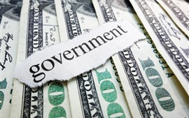 Aperçu fond d'écran Dollars, argent, gouvernement