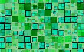Quadrados verdes, geométricos, textura de fundo