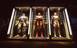 Vorschau des Hintergrundbilder Iron Man, Kriegerrüstung