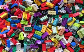 Preview wallpaper Lego bricks, colorful
