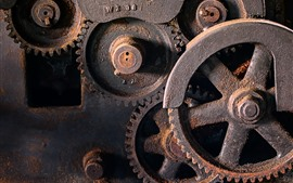 Preview wallpaper Machines, gears, rust