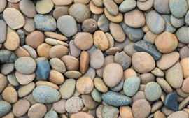 Many pebbles