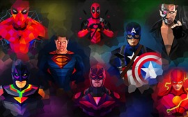 Marvel, superheroes, art picture