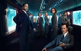Preview wallpaper Murder on the Orient Express