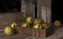 Preview wallpaper Pears, fruit, still life