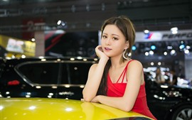 Preview wallpaper Pure Asian girl, auto show