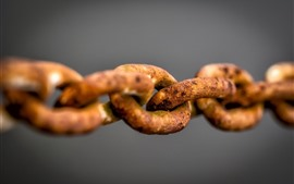 Preview wallpaper Rusty iron chain