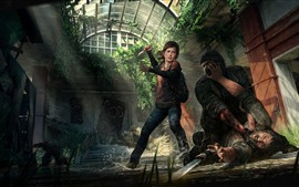 Preview wallpaper The Last of Us, Ellie, game