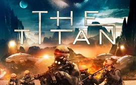 Preview wallpaper The Titan 2018