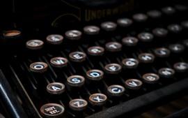 Typewriter, buttons